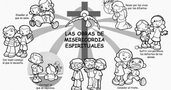 Educar Con Jesús  Obras Misericordia Espirituales