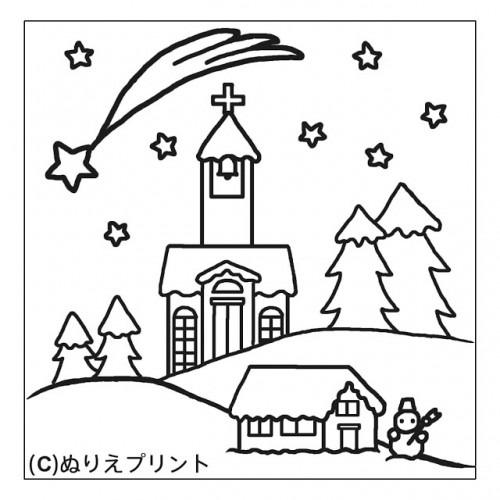 Dibujos De Paisajes De Navidad Para Pintar