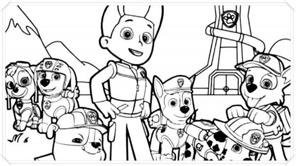 Patrulla Canina Dibujos Animados Clan 🥇 Biblioteca De Imágenes Online