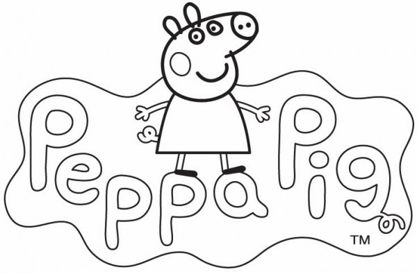 Divertidos Dibujos De Peppa Pig Para Imprimir Y Colorear