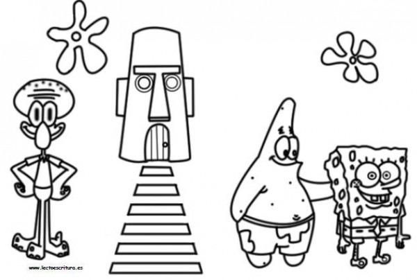Www Lectoescritura Es  Dibujos Para Pintar Y Colorear  Pintar Bob