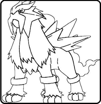 Pokémons Legendarios Para Dibujar Y Colorear