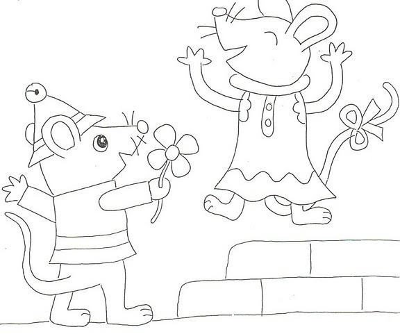Ratita Presumida Y Ratón