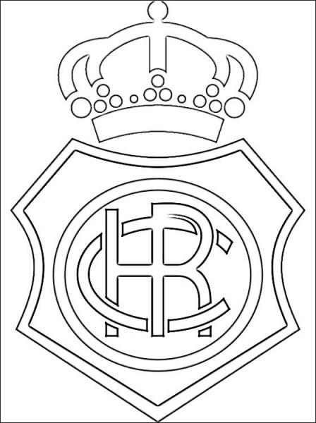 Bandera De Huelva Para Colorear