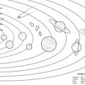 Dibujos Para Colorear De Astronomia
