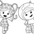 Dibujos De Equipo Umizoomi Para Colorear