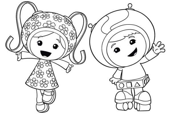 Dibujos De Team Umizoomi Para Colorear