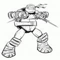 Tortugas Ninja Colorear