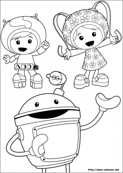Dibujos De Umizoomi Para Colorear En Colorear Net