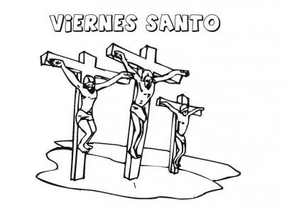 Dibujos Del Viernes Santo Para Descargar Y Colorear