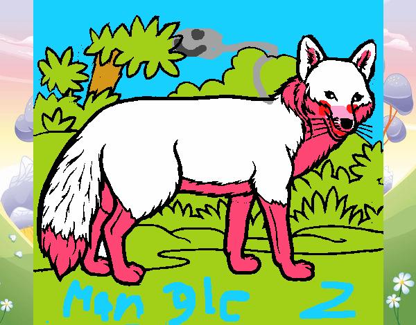Dibujo De Mangle O Toy Foxy Pintado Por En Dibujos Net El Día 13