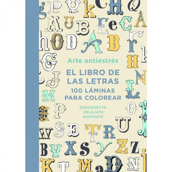 Libro Pdf Arte Antiestrés  El Libro De Las Letras  100 Láminas
