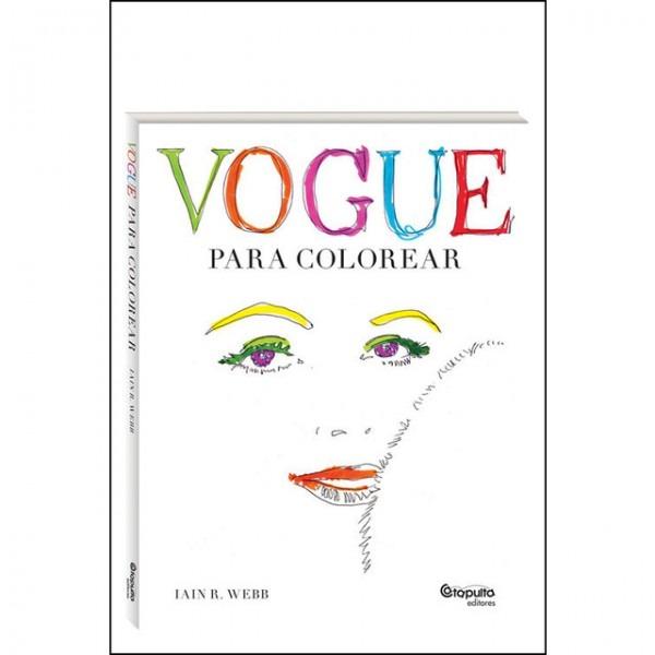 Vogue  Para Colorear Pdf Libro