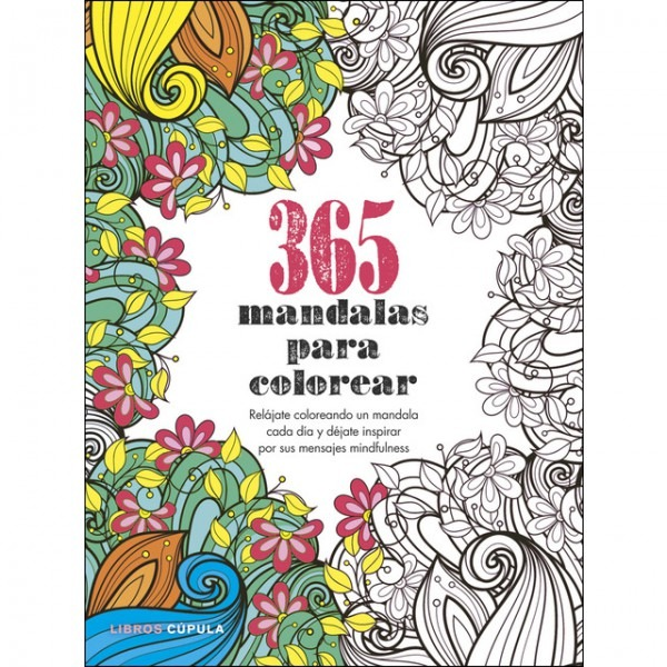 365 Mandalas Para Colorear  Relájate Coloreando Un Mandala Cada