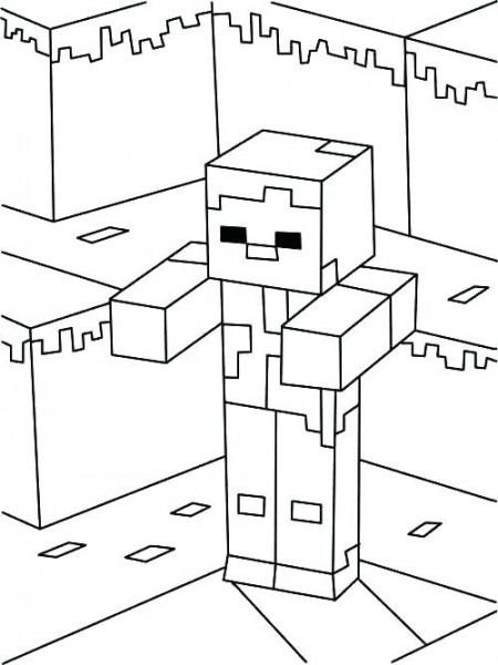 Paginas Para Colorear Para Minecraft Para Para Dibujos Para