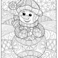 Dibujos De Navidad Originales Para Colorear