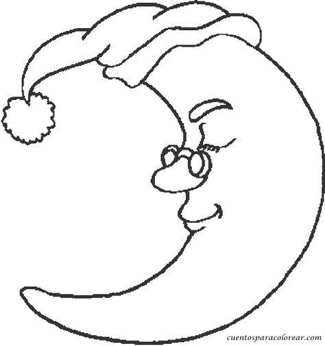 Dibujos Del Sol Y La Luna Para Colorear Online  Dibujos Infantiles