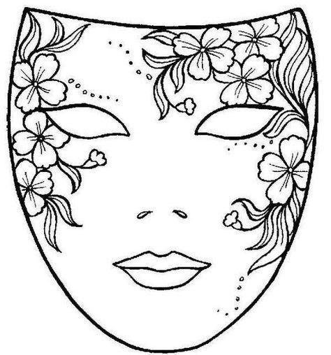 Máscaras Para Colorear