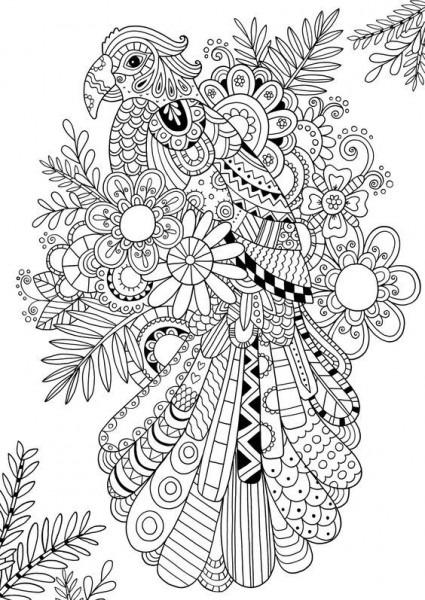 Animales Mandala Ii  – Mándalas Fáciles De Hacer Para Pintar