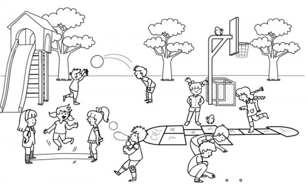 Actividades Para Preescolares En El Patio De Recreo