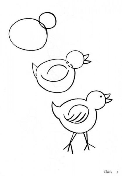 Como Dibujar Animales Fácilmente Para Niños En 2019