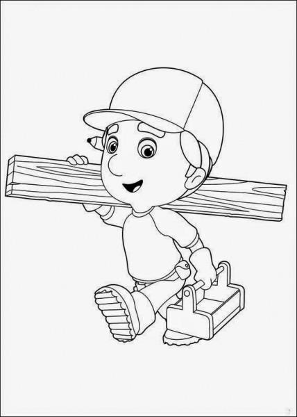 Dibujos Para Colorear  Maestra De Infantil Y Primaria   Manny A La