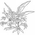 Digimon Fusion Para Colorear