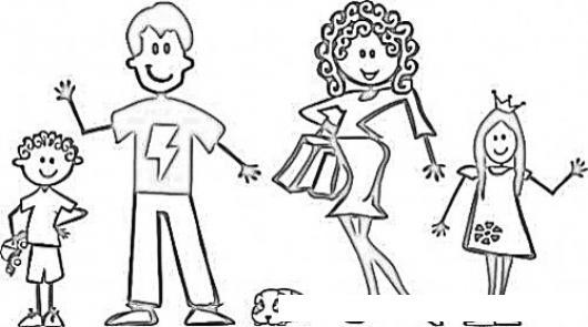 Imagenes Para Dibujar Familia