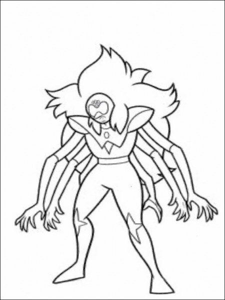 Dibujos Para Colorear Para Niños Steven Universe 1