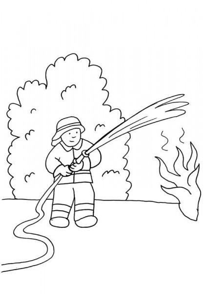 Imagenes De Incendio Para Dibujar