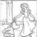 Dibujo Blancanieves Colorear