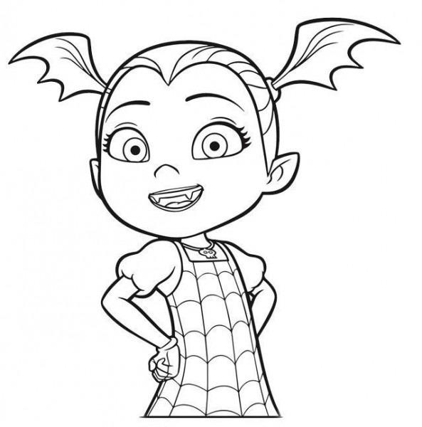 Como Dibujar Demi Vampirina Disney Para Colorear E1549054489702