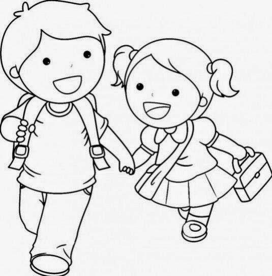 Pin En Dibujos  Niños
