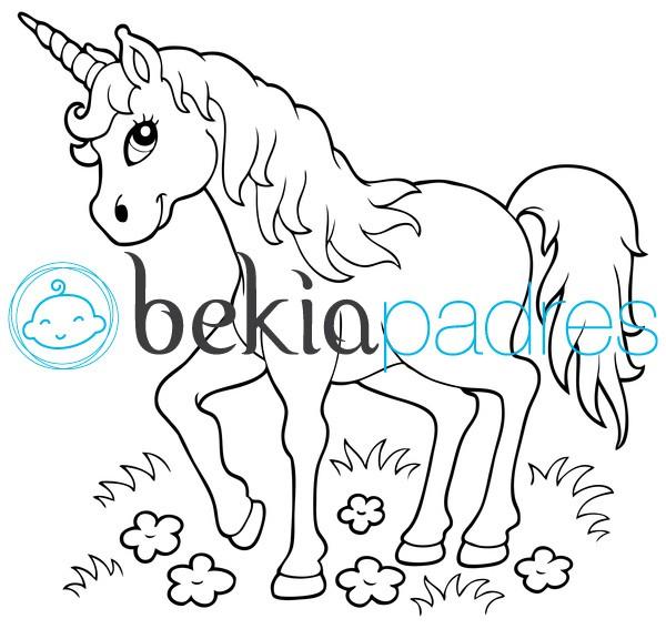 Unicornio  Dibujo Para Colorear