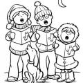 Imagenes De Cena De Navidad Para Colorear
