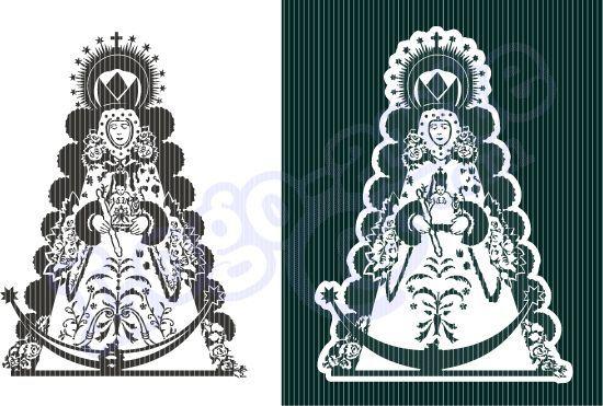 Imágenes Vectoriales De La Virgen Del Rocío Disponibles Para