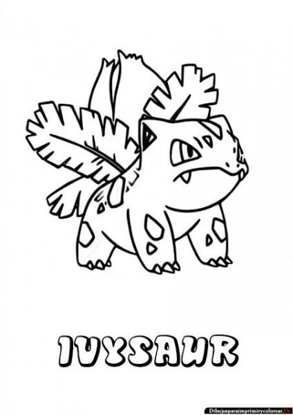 Dibujos De Pokemon Para Imprimir Y Colorear