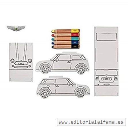 Mini Lifestyle Colección Nuevo Auténtico Mini Plegable 3d Papel