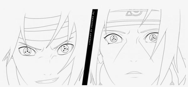 Naruto Vs Sasuke Para Colorear Sasuke Vs Itachi By