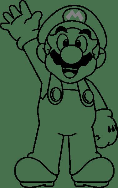 Download Imagenes De Mario Kart 8 Para Colorear