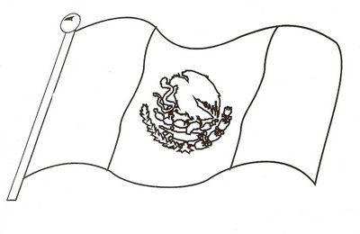 Bandera Para Colorear, Ideal Para Los Más Peques