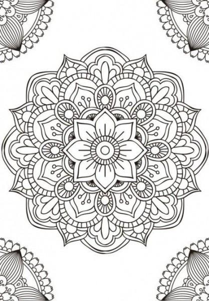 Pin En Mandalas