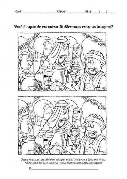 Parroquia La Inmaculada  Fichas Para Niños  Las Bodas De Caná