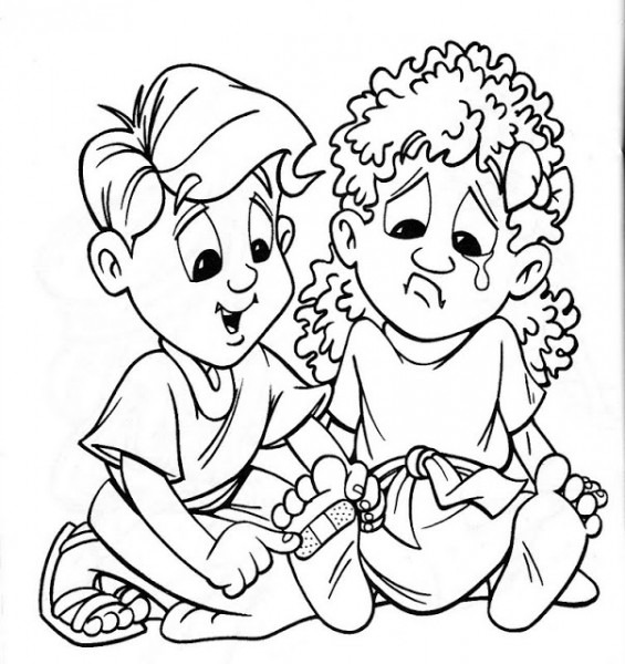 Dibujos Cristianos Para Colorear Para Niños
