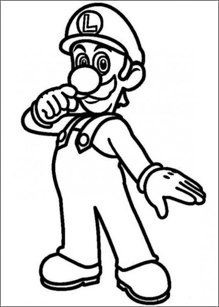 Mario Bross Coloring Pages 25