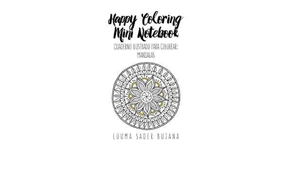 Buy Happy Coloring Mini Notebook  Mandalas  Volume 2 (cuadernos