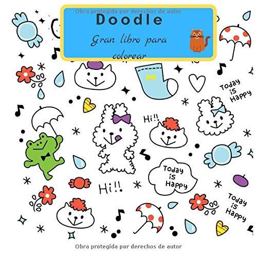 Doodle Gran Libro Para Colorear  Doodle Libro De Actividades Para