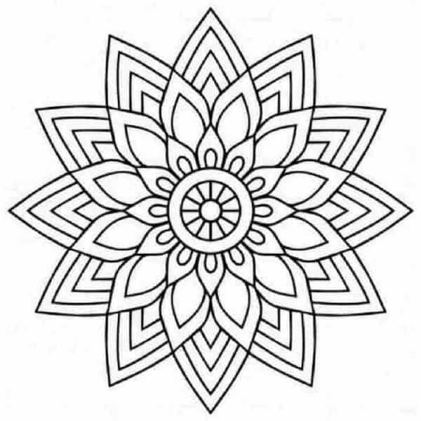Más De 100 Mandalas Para Pintar Y Colorear
