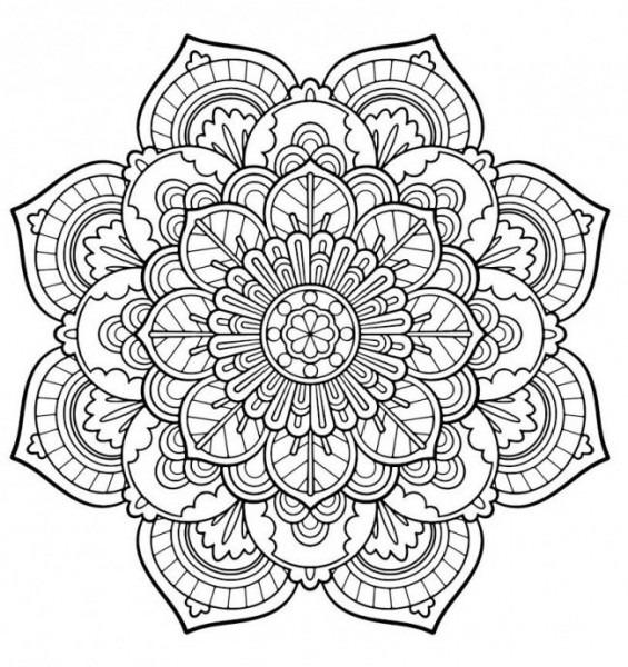 Mandalas Para Colorear, Una Divertida Forma De Decirle Adiós Al