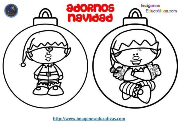 Colección De Bolas De Navidad Para Colorear Totalmente Originales